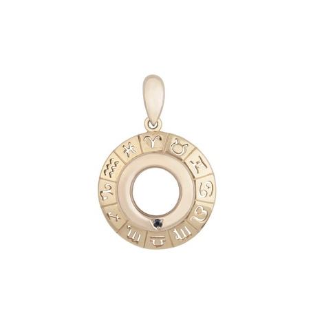 Золотая подвеска - Зодиакальное кольцо